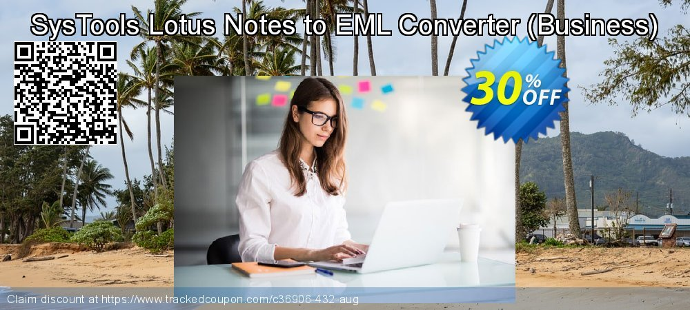 SysTools Lotus Notes to EML Converter - Business  coupon on Thanksgiving super sale