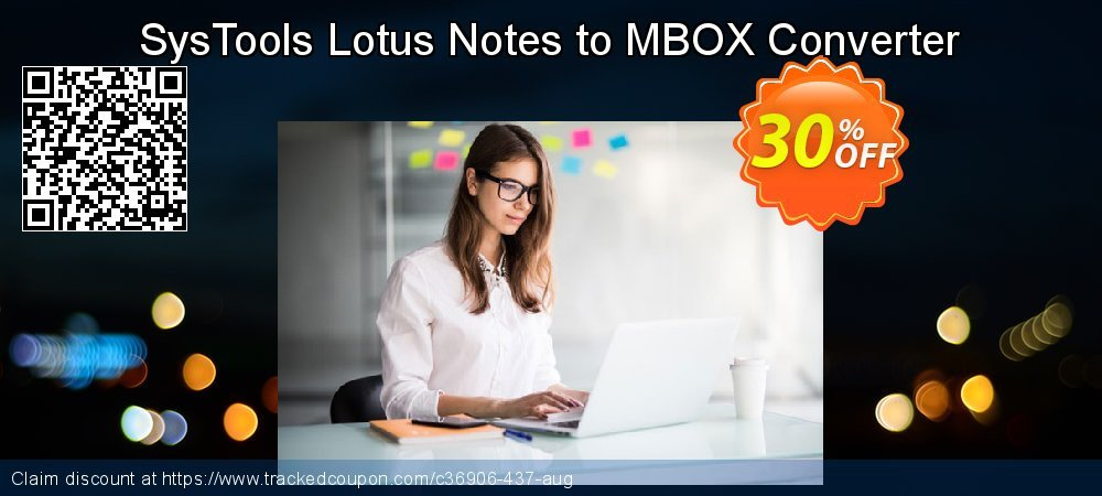 SysTools Lotus Notes to MBOX Converter coupon on Summer discounts