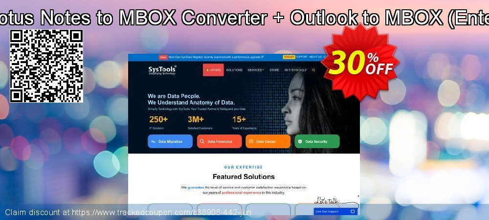 Bundle Offer: Lotus Notes to MBOX Converter + Outlook to MBOX - Enterprise License  coupon on Thanksgiving discounts