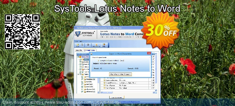 SysTools Lotus Notes to Word coupon on Easter discount