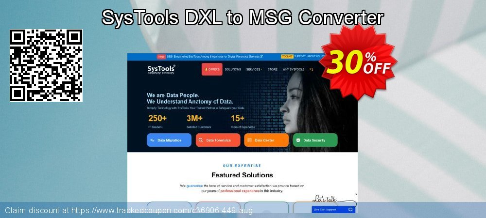 SysTools DXL to MSG Converter coupon on Christmas super sale