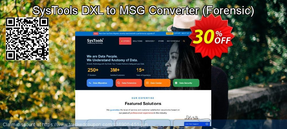 SysTools DXL to MSG Converter - Forensic  coupon on April Fool's Day promotions