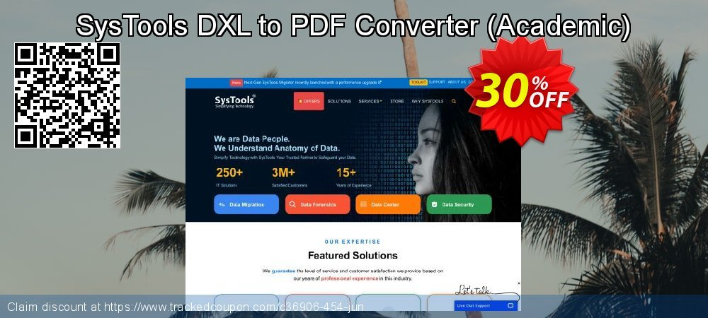 SysTools DXL to PDF Converter - Academic  coupon on Christmas & New Year offer