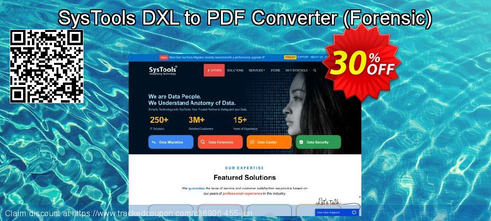 SysTools DXL to PDF Converter - Forensic  coupon on Black Friday offer