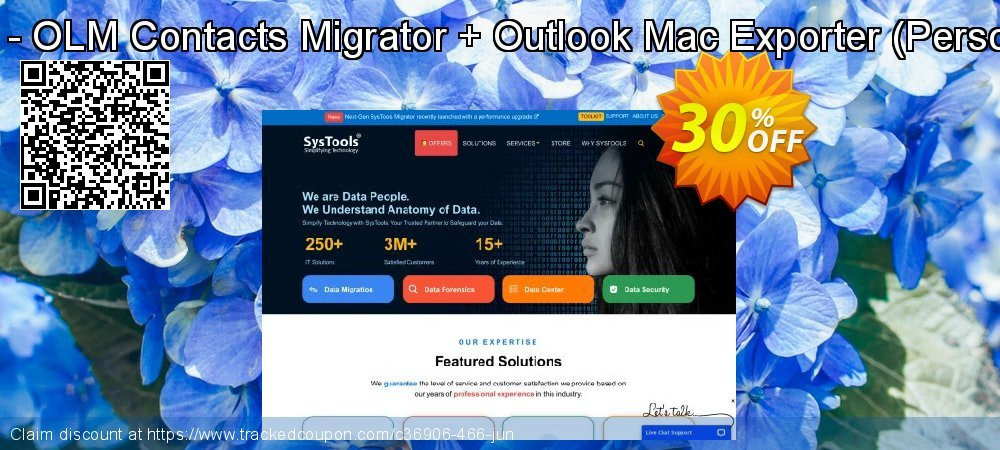 Bundle Offer - OLM Contacts Migrator + Outlook Mac Exporter - Personal License  coupon on Thanksgiving offering discount