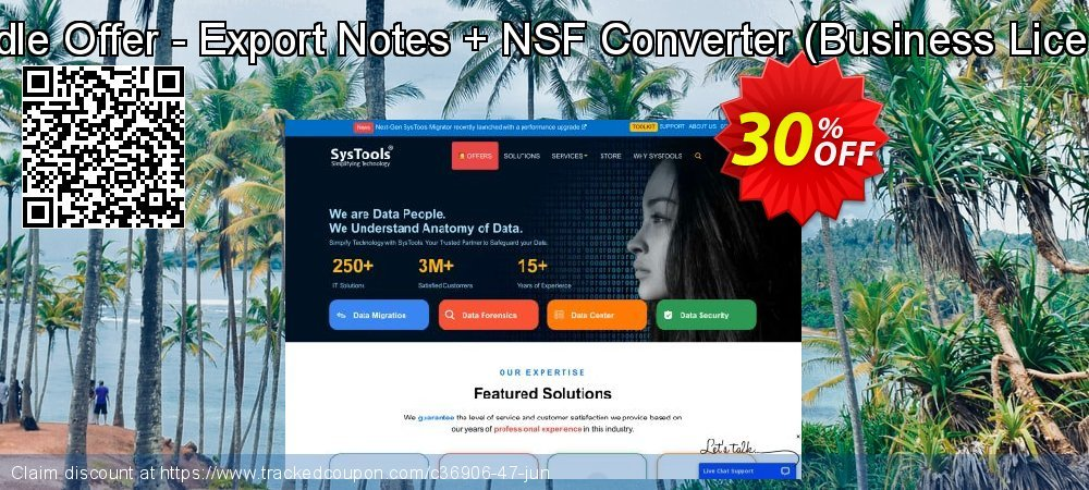 Bundle Offer - Export Notes + NSF Converter - Business License  coupon on Black Friday promotions