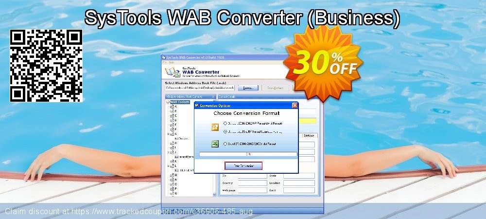 SysTools WAB Converter - Business  coupon on Summer deals