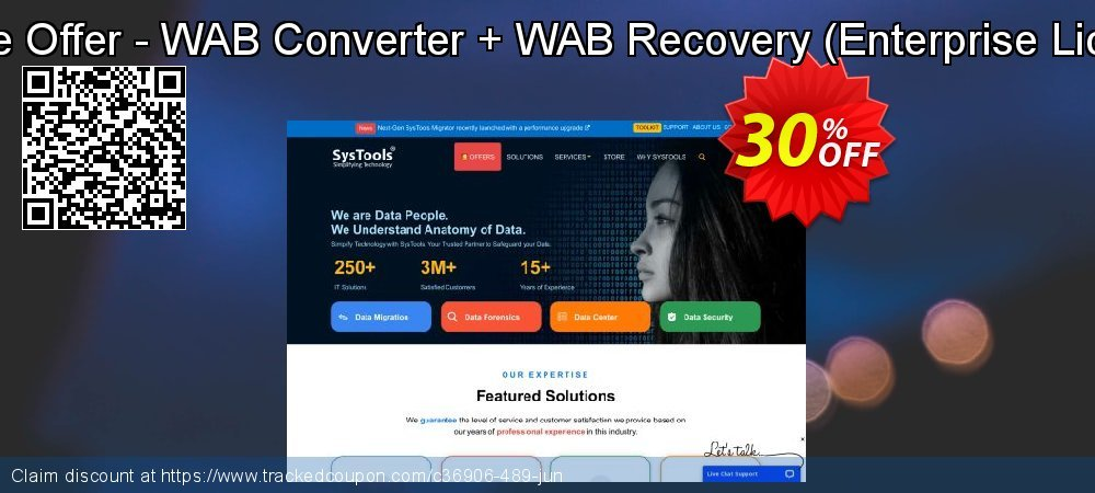 Bundle Offer - WAB Converter + WAB Recovery - Enterprise License  coupon on Christmas Day deals