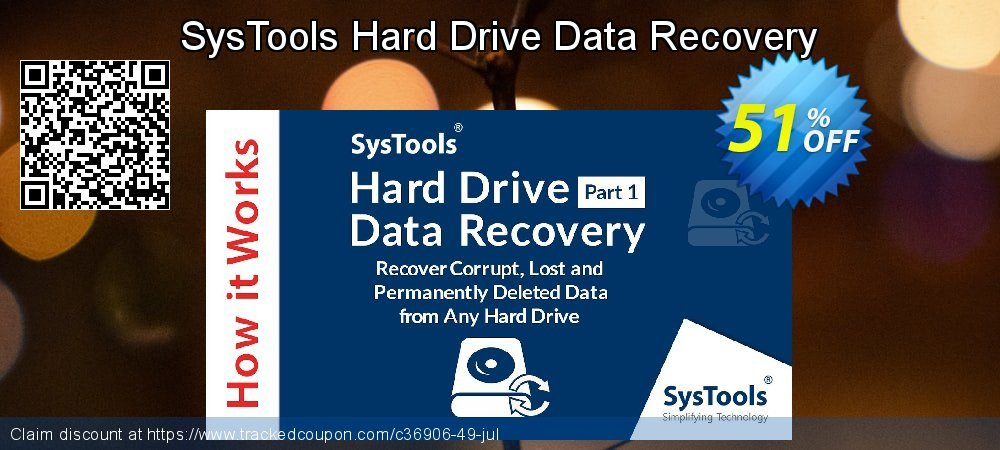 SysTools Hard Drive Data Recovery coupon on Black Friday deals