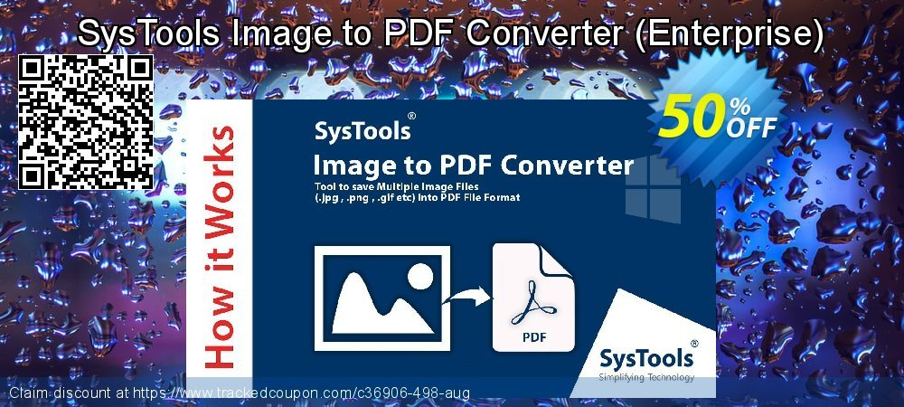 SysTools Image to PDF Converter - Enterprise  coupon on July 4th offering sales