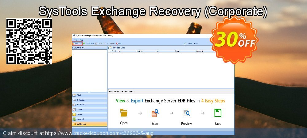 SysTools Exchange Recovery - Corporate  coupon on Christmas Day discount