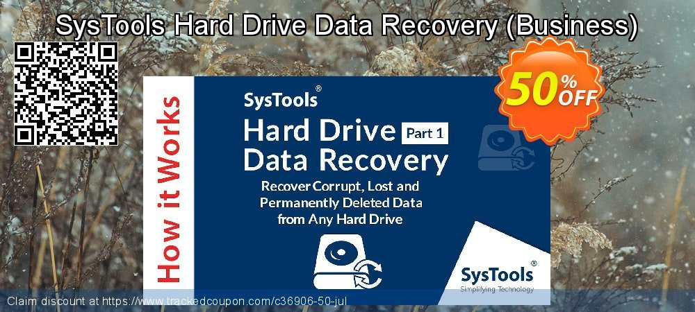 SysTools Hard Drive Data Recovery - Business  coupon on April Fool's Day discount