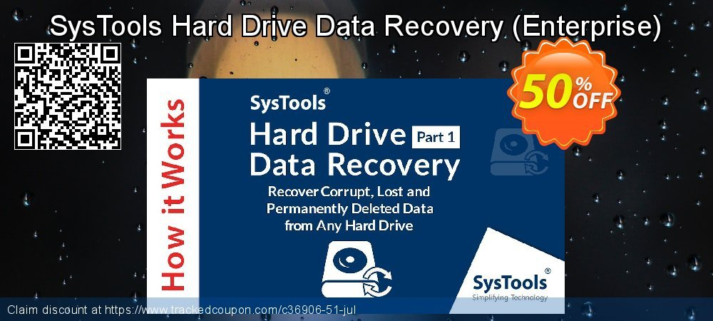 SysTools Hard Drive Data Recovery - Enterprise  coupon on Black Friday discount