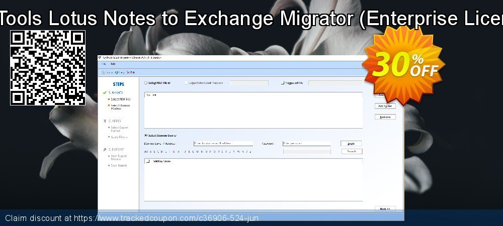 SysTools Lotus Notes to Exchange Migrator - Enterprise License  coupon on 4th of July offering discount