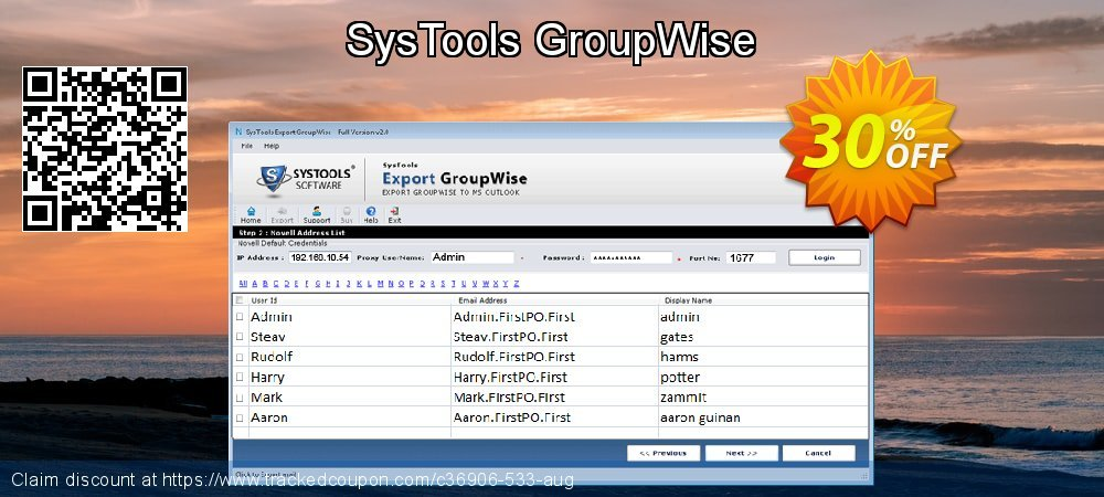 SysTools GroupWise coupon on New Year's Day discounts