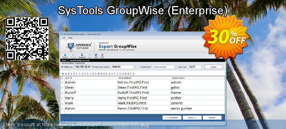 SysTools GroupWise - Enterprise  coupon on April Fool's Day promotions