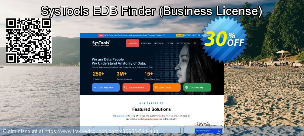 SysTools EDB Finder - Business License  coupon on Black Friday discounts