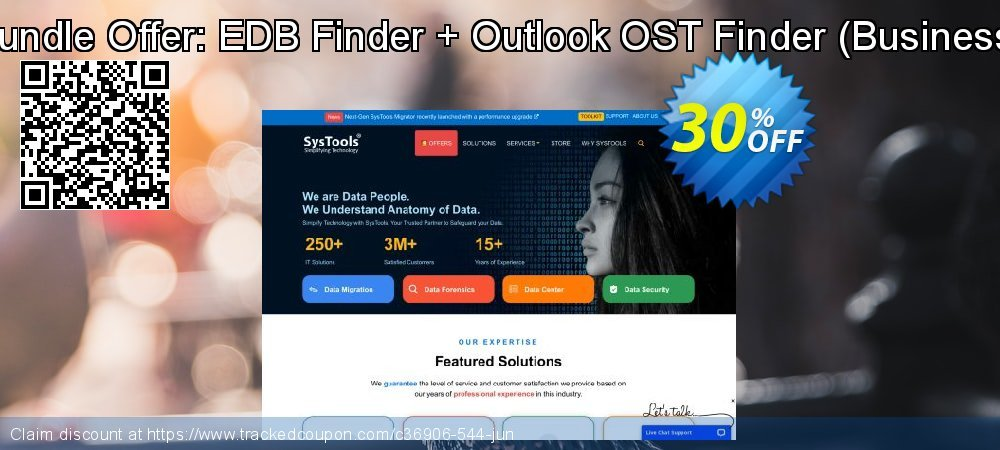 Bundle Offer: EDB Finder + Outlook OST Finder - Business  coupon on Exclusive Teacher discount promotions