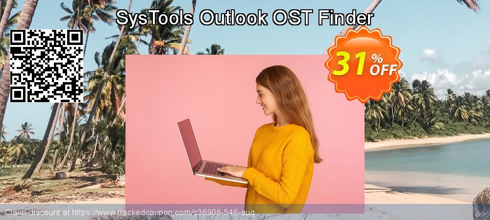SysTools Outlook OST Finder coupon on April Fool's Day deals