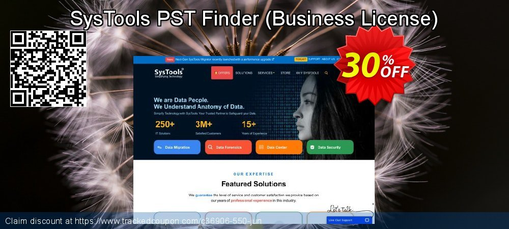 SysTools PST Finder - Business License  coupon on Xmas promotions