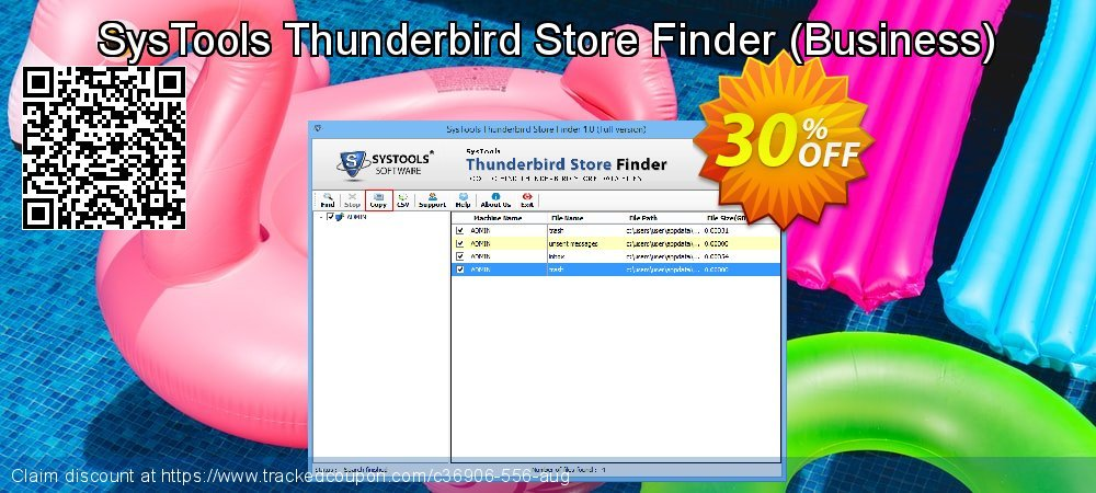 SysTools Thunderbird Store Finder - Business  coupon on Xmas Day offering sales