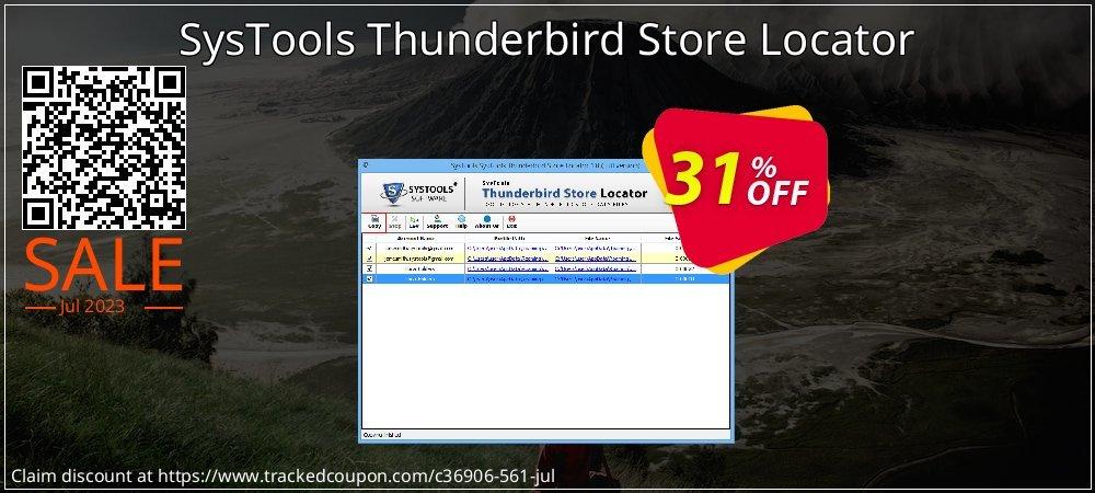SysTools Thunderbird Store Locator coupon on Xmas deals