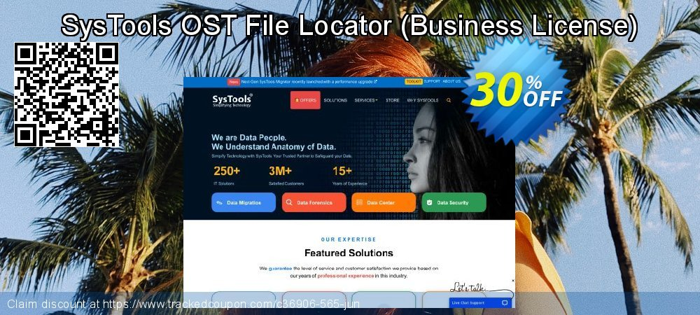 SysTools OST File Locator - Business License  coupon on Summer sales