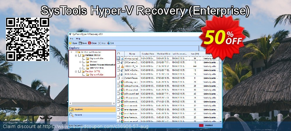 SysTools Hyper-V Recovery - Enterprise  coupon on Black Friday sales