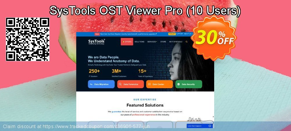 SysTools OST Viewer Pro - 10 Users  coupon on Christmas Day promotions