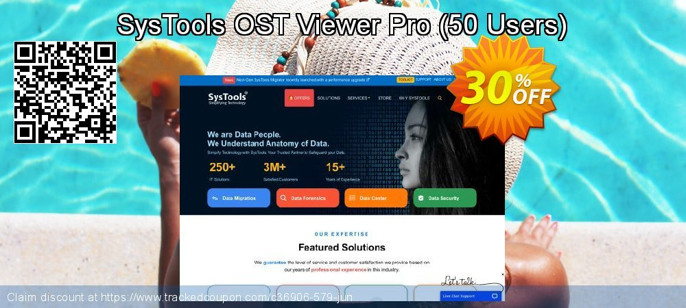 SysTools OST Viewer Pro - 50 Users  coupon on April Fool's Day offering discount