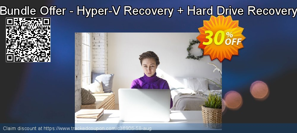 Bundle Offer - Hyper-V Recovery + Hard Drive Recovery coupon on Thanksgiving deals