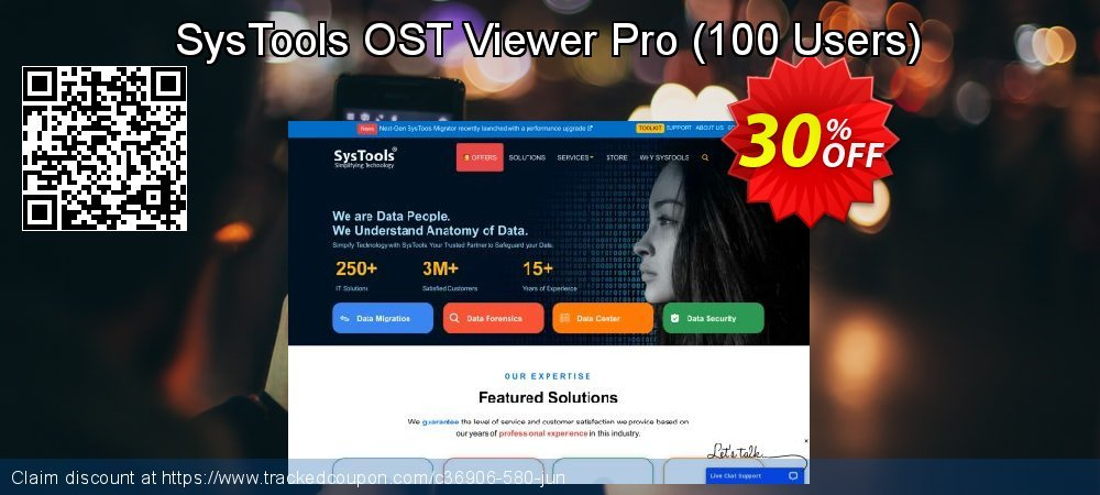 SysTools OST Viewer Pro - 100 Users  coupon on American Independence Day super sale
