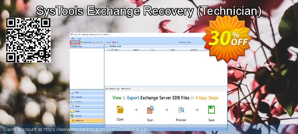 SysTools Exchange Recovery - Technician  coupon on American Independence Day promotions