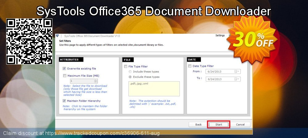 SysTools Office365 Document Downloader coupon on Xmas Day super sale