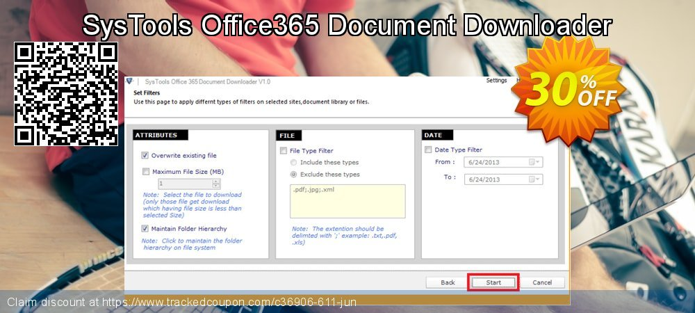SysTools Office365 Document Downloader coupon on Black Friday offering sales