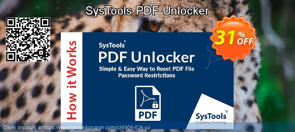 SysTools PDF Unlocker coupon on Back to School coupons discounts