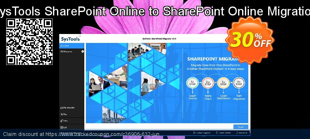 SysTools SharePoint Online to SharePoint Online Migration coupon on American Independence Day offering discount
