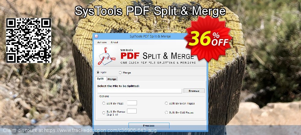 SysTools PDF Split & Merge coupon on Black Friday deals