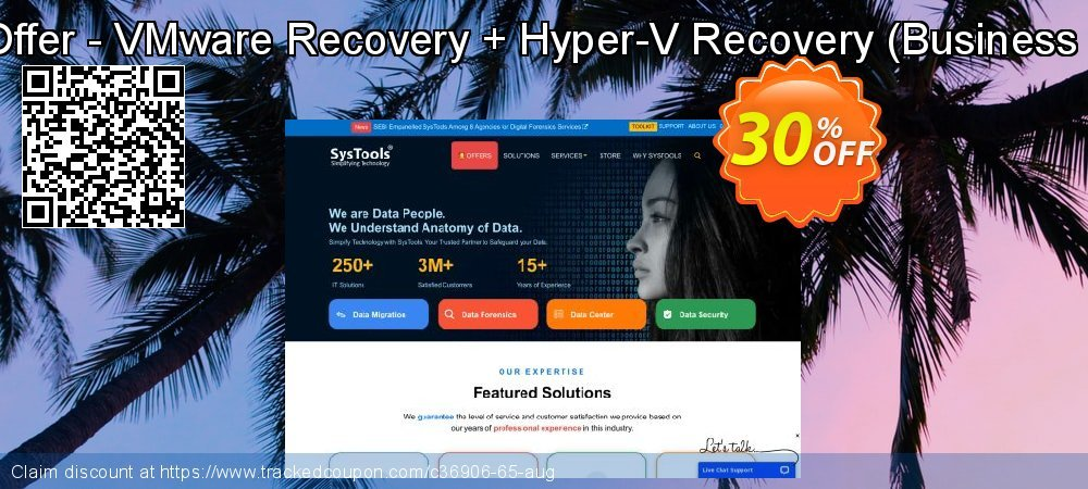 Bundle Offer - VMware Recovery + Hyper-V Recovery - Business License  coupon on X'mas sales