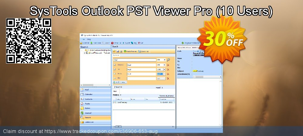 SysTools Outlook PST Viewer Pro - 10 Users  coupon on Tattoo Day discounts