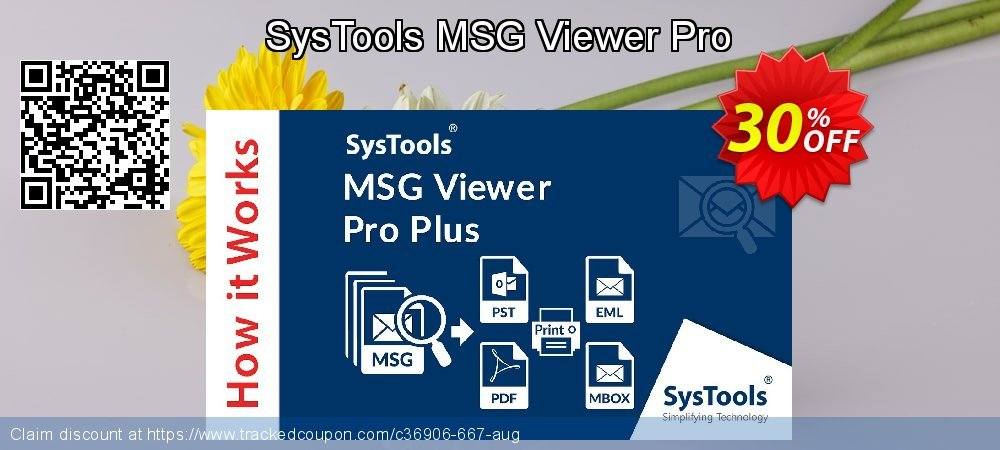SysTools MSG Viewer Pro coupon on Emoji Day discount