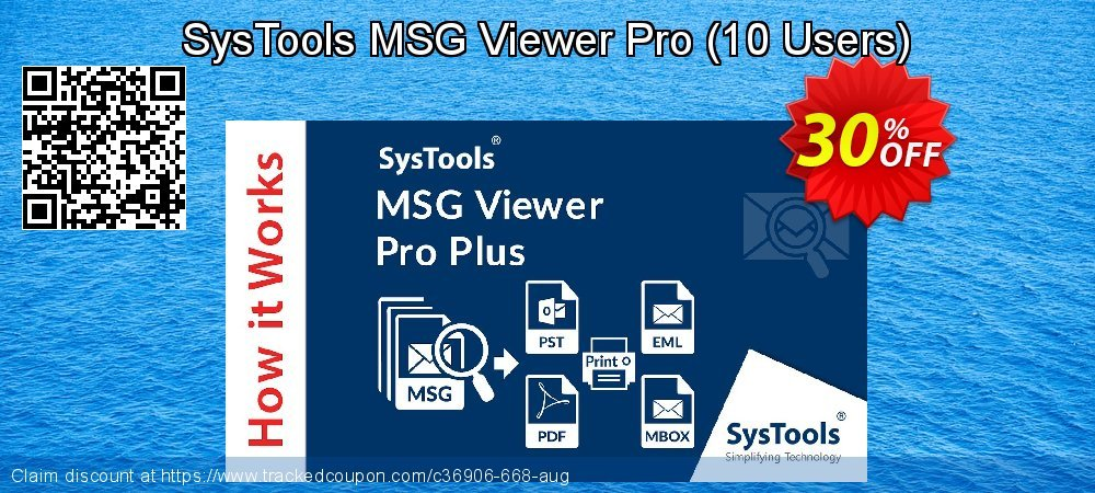SysTools MSG Viewer Pro - 10 Users  coupon on Parents' Day offering discount