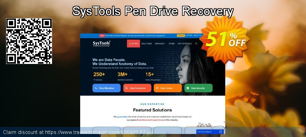 SysTools Pen Drive Recovery - Personal License coupon on April Fool's Day offering sales
