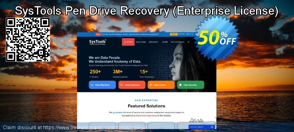 SysTools Pen Drive Recovery - Enterprise License  coupon on National Bikini Day promotions