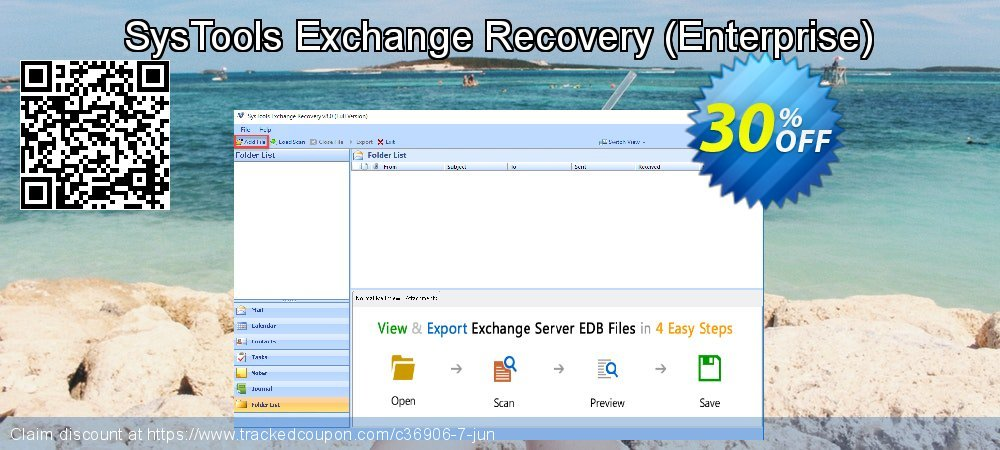 SysTools Exchange Recovery - Enterprise  coupon on World Chocolate Day sales