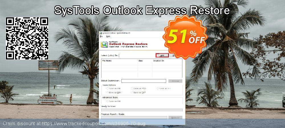 SysTools Outlook Express Restore coupon on Thanksgiving offering discount