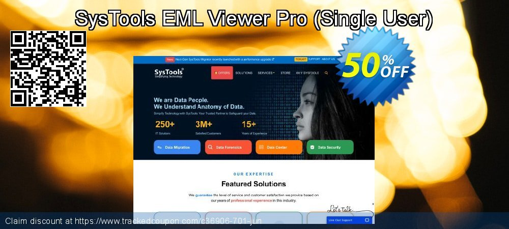 SysTools EML Viewer Pro - Single User  coupon on New Year's eve super sale