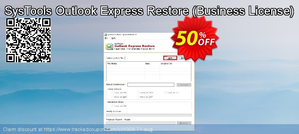 SysTools Outlook Express Restore - Business License  coupon on World Chocolate Day deals