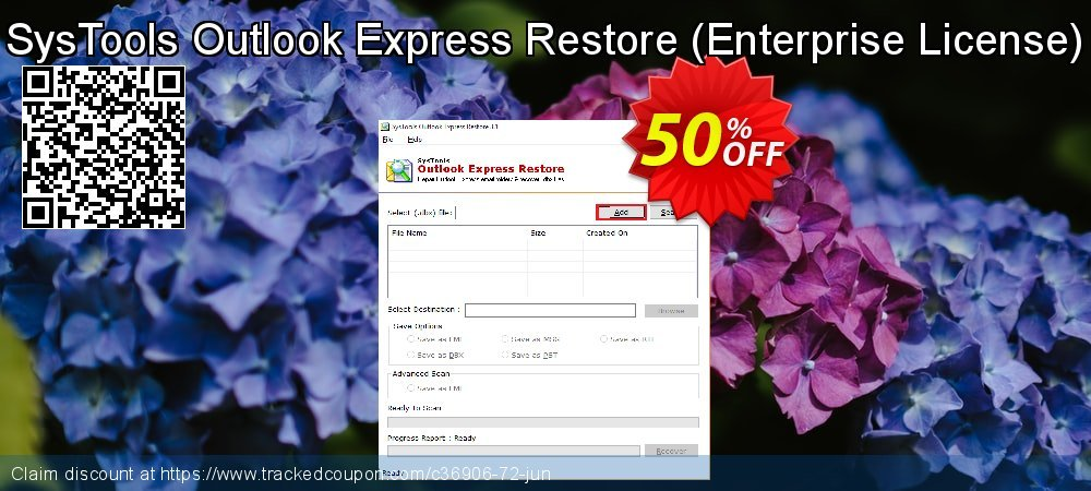 SysTools Outlook Express Restore - Enterprise License  coupon on April Fool's Day discounts