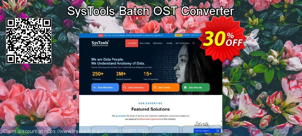 Claim 20% OFF SysTools Batch OST Converter Coupon discount July, 2020